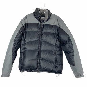 REI Goose Down Hooded Puffer Jacket Size Large